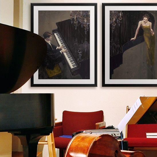 Orchestra room decor