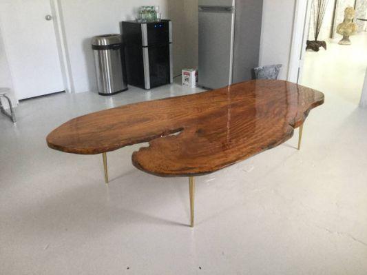 Vintage Wood Slab Coffee Table Coffee Table Coffee Table Wood