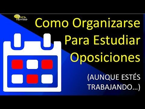 Como Organizarse Para Estudiar Oposiciones 4 Pasos Para Un Plan De Estudio Pdf Descargable Estudiar Oposiciones Como Organizarse Para Estudiar Oposicion
