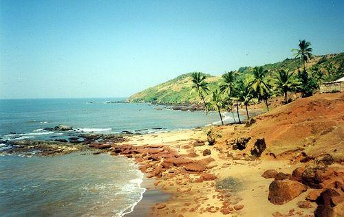 Anjuna Beach in Goa, photo by AlmazUK