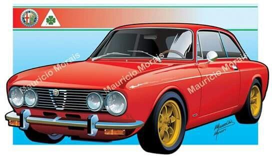 Esta é para balançar os corações mais duros!!! ALFA ROMEO GTV. Compre seu pôster, encomendas inbox. https://www.facebook.com/MauricioMoraisDesenhodeCarro/ #AlfaRomeo #AlfaGTV #AlfaGTA #Alfa2300 #AlfaT33 #CuoreSportivo #AlfaTZ #Alfa #Bertone #Pininfarina