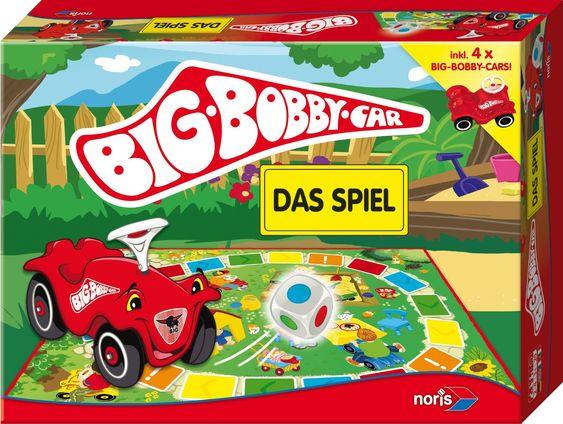"""Anleitung zum Kinderspiel """"Big Bobby Car"""" auf www.spielregeln.de  Zu den Spielregeln: http://www.spielregeln.de/big-bobby-car-mit-dem-kindheitstraum-zum-brettspielrennen.html"""
