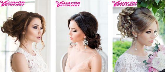 Açık Gelin Saçı Modelleri