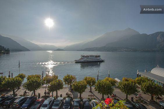 vista dal balcone - Appartamento Cavour · Bellagio, Lombardia 22021, Itália