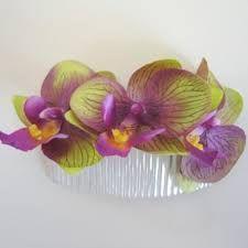 Resultado de imagen de hair comb orchid