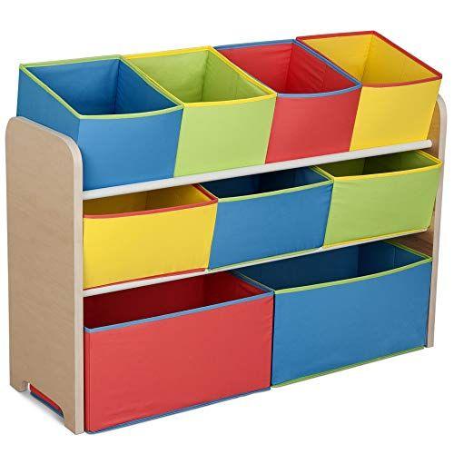 Delta Children Multi Color Toy Organizer Toy Storage Organization Childrens Storage Furniture Toy Organization