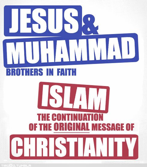 jesus and muhammad I believe that, if given a choice between jesus or muhammad as an example to follow regarding how one should respond to one's enemies, most would point to the example of jesus as the more noble and the one to which society should aspire.