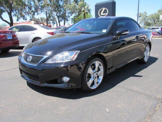 Convertible 2010 Lexus Is 250c With 2 Door In Tucson Az 85712 2010 Lexus Lexus Lexus Cars