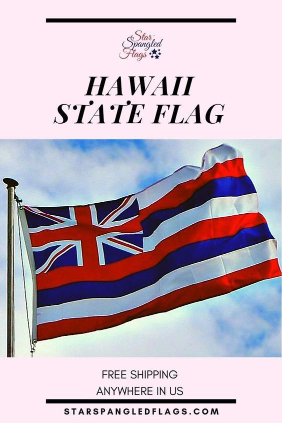 Hawaii State Flag For Sale From Star Spangled Flags In 2020 Hawaii Flag Hawaii State Flag Flag