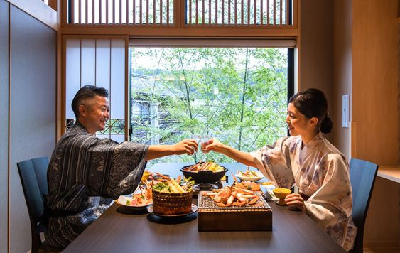 Cuisine | Yuhigaura Onsen Ryokan Kasyouen | Overlooking the Yuhigaura coast [Official lowest price guarantee]