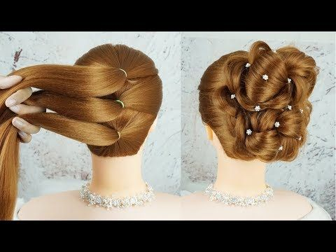 Easy Hairstyles For Special Occasions Braided Prom Updo Hair Tutorial Latest Trending Hairstyles Yout Headbands For Short Hair Hair Updos Easy Hairstyles