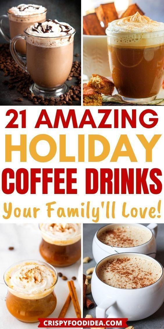 holiday coffee drinks
