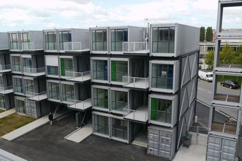 koinonia-educal • Container House for Student in France