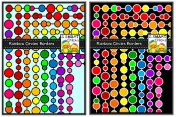 Jazz up your products with our colourful Rainbow Circles Borders! 32 different PNG file borders are included in this set! Once downloaded, clip art can be used for personal or commercial purposes. Kindly remember to include a link back to our TPT store: http://www.teacherspayteachers.com/Store/2-Smart-Chicks Happy creating!Circles not your thing?