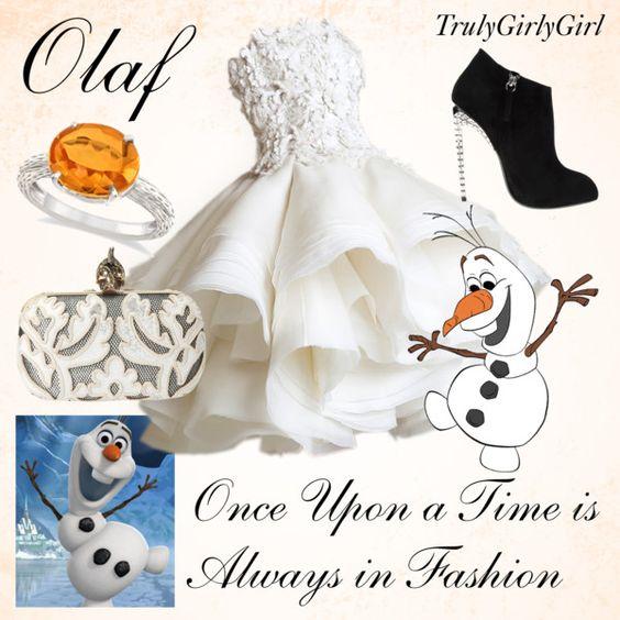 """""""Disney Style: Olaf"""" by trulygirlygirl on Polyvore"""
