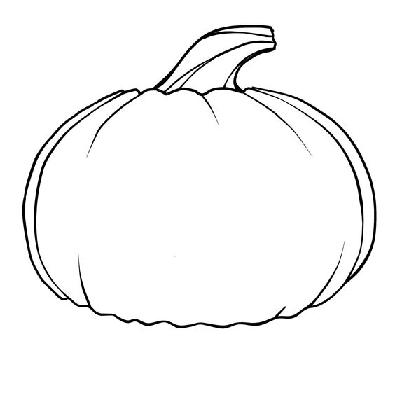 Simple Shapes Coloring Pages | Free Printable Pumpkin Coloring ...