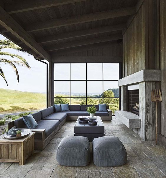 Dream House Tour: Beautiful Contemporary Ranch House in Napa Valley