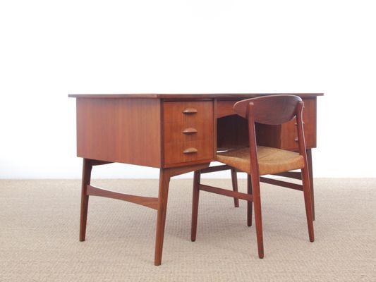 Scandinavian Teak Desk 1960s For Sale At Pamono Teak Wooden Desk Desk