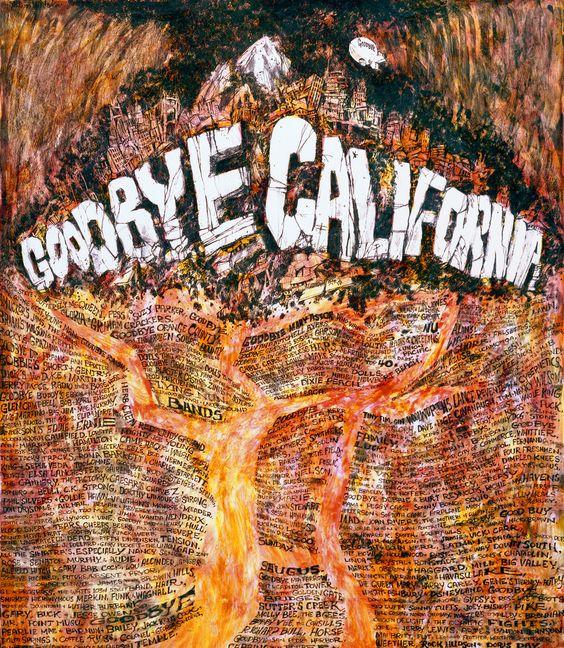 goodbye california poster - Google Search: