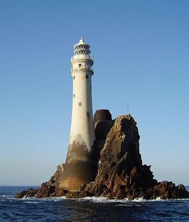 Fastnet Lighthouse (Irish Coast, Co. Cork, Ireland) was constructed in 1897 and first lit in 1904.