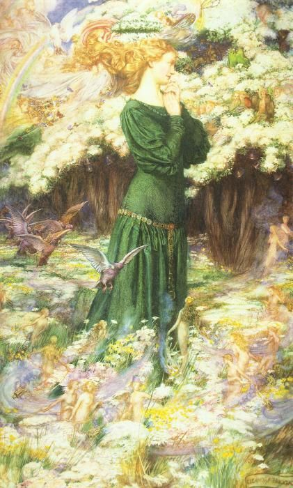 Британская художница-иллюстратор Eleanor Fortescue-Brickdale (1871-1945)