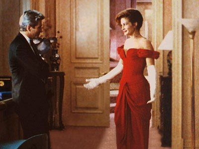 Stunning red dress worn by Julia Roberts in Pretty Woman  ON ...