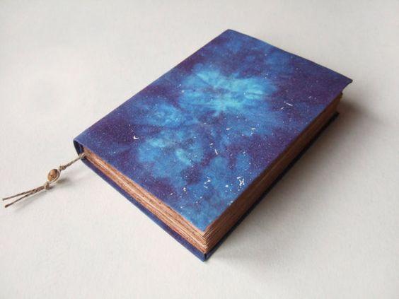 Galaxy cosmos nebula handmade journal notebook diary  by Patiak, $26.00