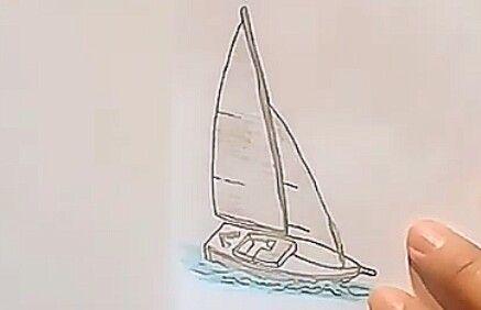 تعلم الرسم للمبتدئين رسم قارب جميل بالرصاص خطوة بخطوة Learn To Draw Make It Yourself