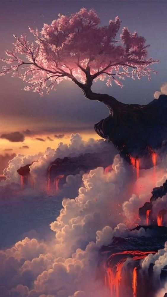 Fuji Volcano Japan Asia Geography Cherry Blossom This Is Absolutely Breathtaking Landscape Art Beautiful Landscapes Beautiful Nature Wallpaper