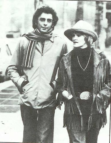 Barry Manilow and lady friend Linda Allen. Photo from the ...