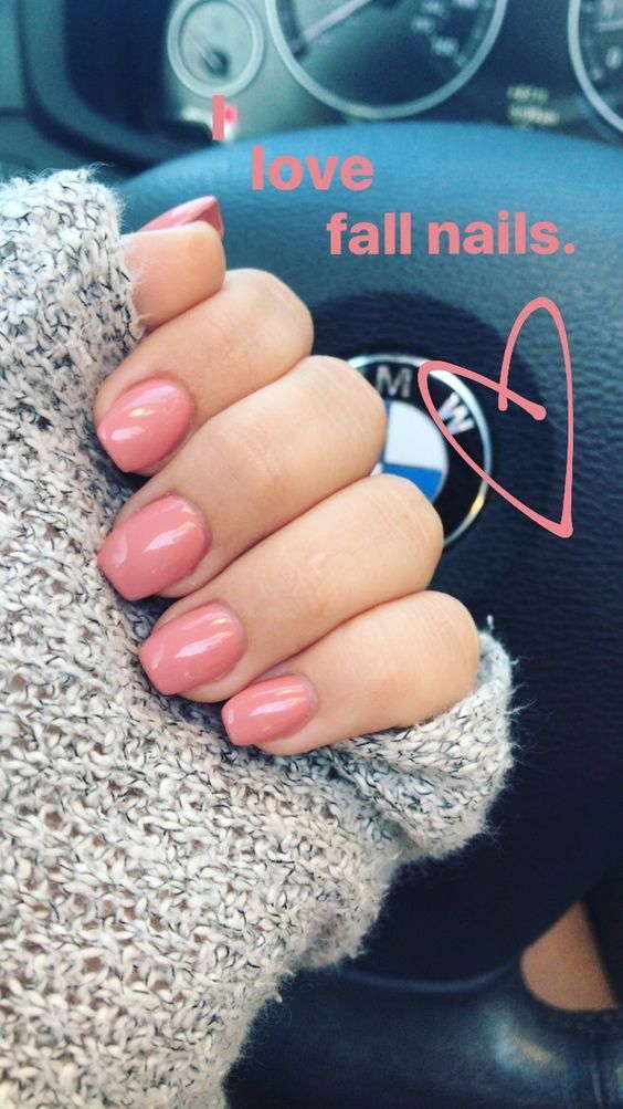 Are You Looking For Short Square Almond Round Acrylic Nail Design For Fall And Summer See Our Co Rounded Acrylic Nails Square Acrylic Nails Fall Acrylic Nails