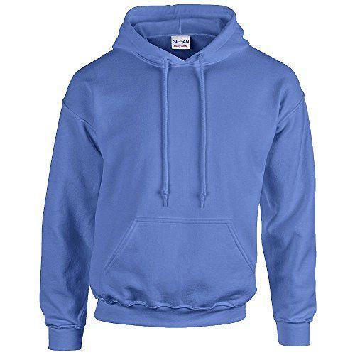 Gildan Heavy Blend Erwachsenen Kapuzen-Sweatshirt 18500 XL, Carolina Blue - http://besteckkaufen.com/products/xl-gildan-unisex-kapuzen-sweatshirt-heavy-blend