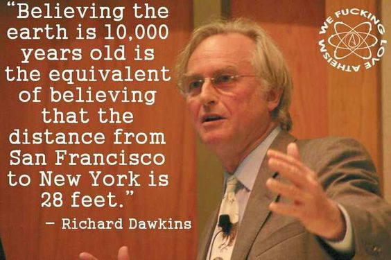 Richard Dawkins on the ridiculousness of creationism