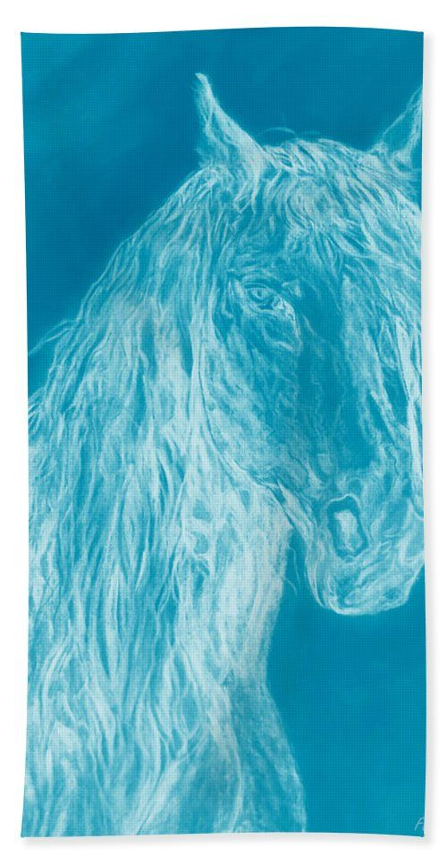 Cloud Horse Bath Towel For Sale By Faye Anastasopoulou Hand