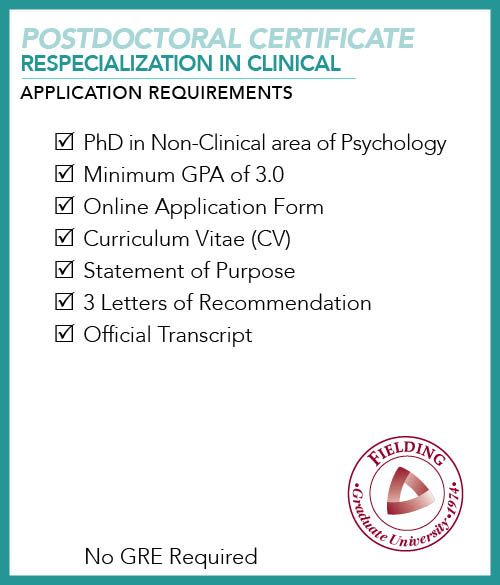 Postdoctoral certificate in respecialization in clinical psychology postdoctoral certificate in respecialization in clinical psychology application requirements checklist application requirements checklist pinterest yelopaper Choice Image