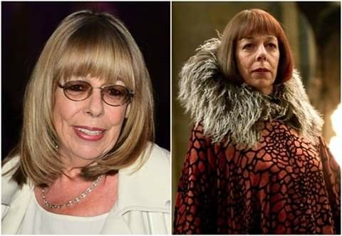 Happy Birthday Frances De La Tour Who Portrayed Madame Olympe Maxime In The Harry Potter Films Harry Potter Films La Tour Potter