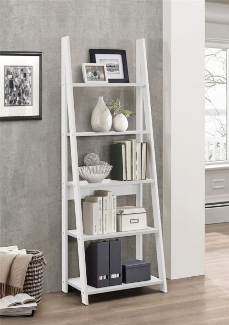 All About Mid Century Retro Chic And Scandinavian Interior Decor With The Best Lighting Design Shelf Decor Living Room Bookcase Decor Ladder Shelf Living Room