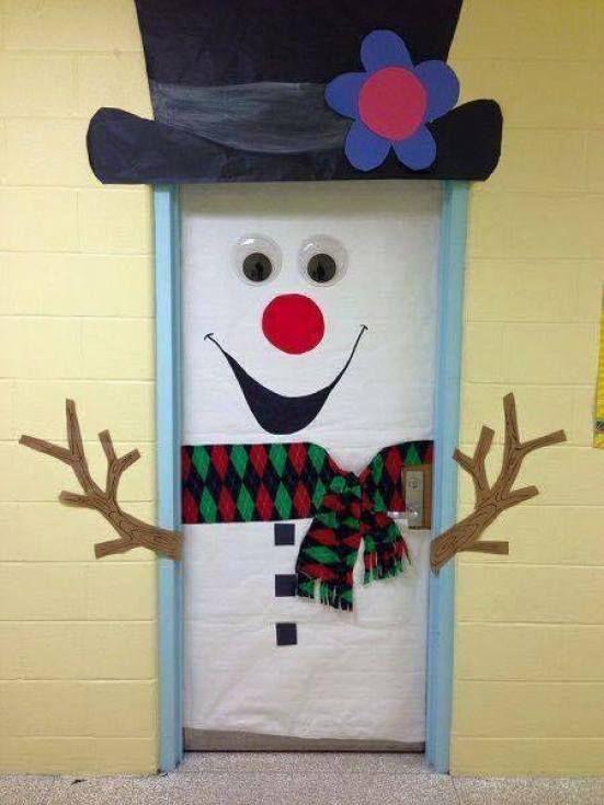 Manualidades Para Decorar Puertas En Navidad.Ideas Para Decorar Puertas Escolares En Navidad Dale