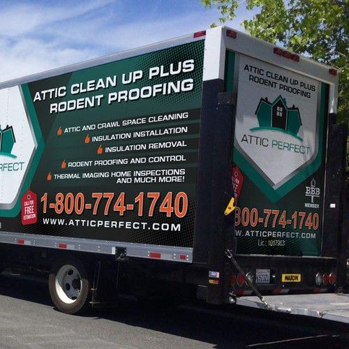 Attic Insulation Company Is Looking For A Wrap For Their Box Trucks Car Truck Or Van Wrap Contest Car Design Van Truck Van Wrap Attic Insulation Trucks
