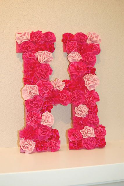 DIY Letter Wall Decor - 17 Interesting DIY Letters Decoration Ideas