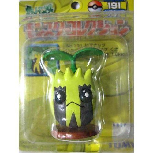 "Pokemon 2004 Sunkern Tomy 2"" Monster Collection Plastic Figure #191"