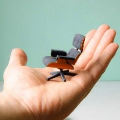 Impressão 3D da famosa Cadeira Eames