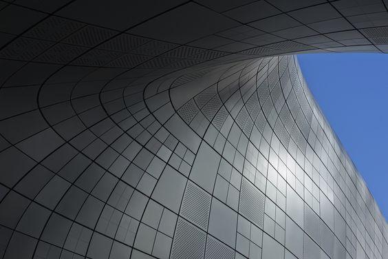 Praça Dongdaemun / Zaha Hadid Architects ©  Virgile Simon Bertrand