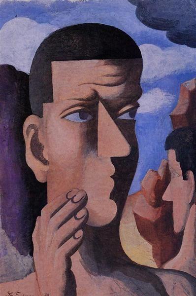 Castor y Pollux, 1922 - Roger de La Fresnaye: