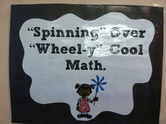 "Teacher's Lounge: Spinning Over ""Wheel-y"" Good Work!"