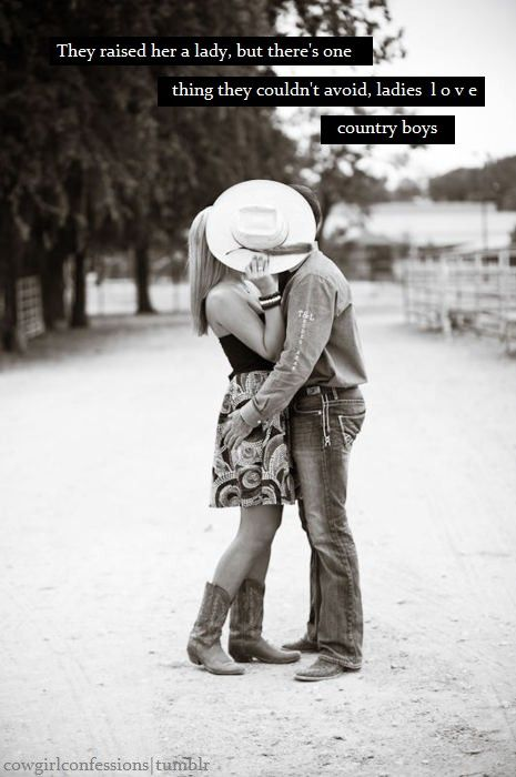 lady love/country boy - Click image to find more Animals Pinterest pins