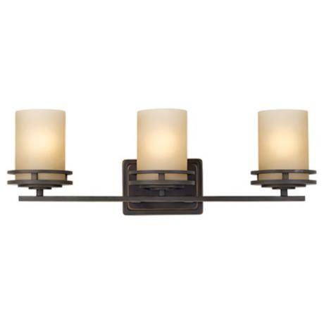 hendrik bronze 24 wide bathroom light fixture lampspluscom asian bathroom lighting