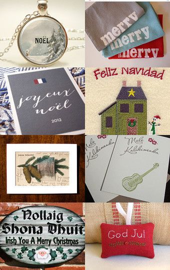 --Pinned with TreasuryPin.com  Christmas Around the World
