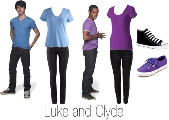 """""""luke and clyde"""" by anjilisladen on Polyvore"""