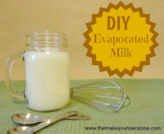 replace evaporated milk with regular milk